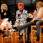 It's All About The Shoes. Nina Hartley, Stan Kent and me, Sex & Drugs & Rock 'n' Roll event. Hustler/Hollywood, West Hollywood, CA.