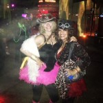 Me and Sass at Capitol Recker. L.A. Decompression , L.A. HIstoric Park, CA. Photo:  Amber GlitterGoddess
