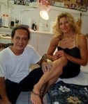 Purotu & Me -- New Tattoo in Mo'orea, Tahiti. Circa 2006.