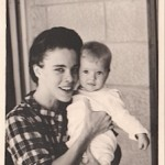 My mother, Jane, and me. Circa 1964.  Jerusalem, Israel.