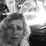 "Selfie with Rabbit Ears. Post-Bar Mitzvah, The Grove. ""The Art of Dignity"" series. Los Angeles, California."