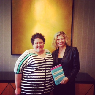 Suzanne Evans, Yours Truly, and Suzanne's NY Times Bestselling book! Hell Raisers II mastermind The Umstead Spa and Hotel. Cary, NC