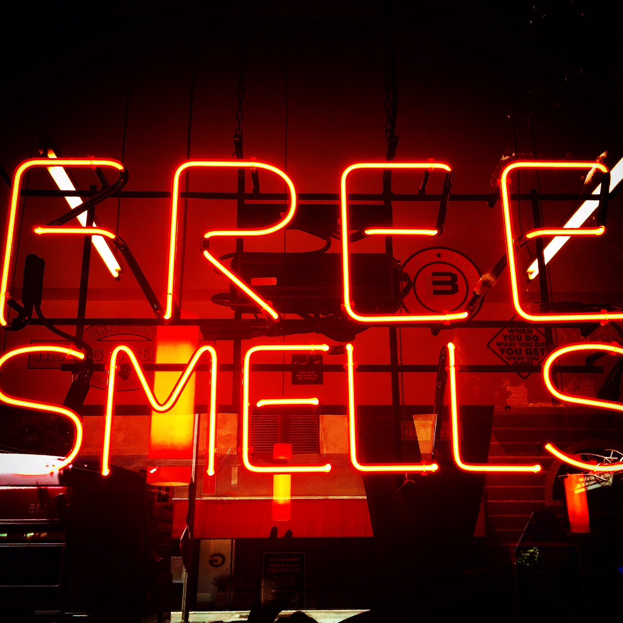Free Smells.  Summer 2015. Downtown Los Angeles.